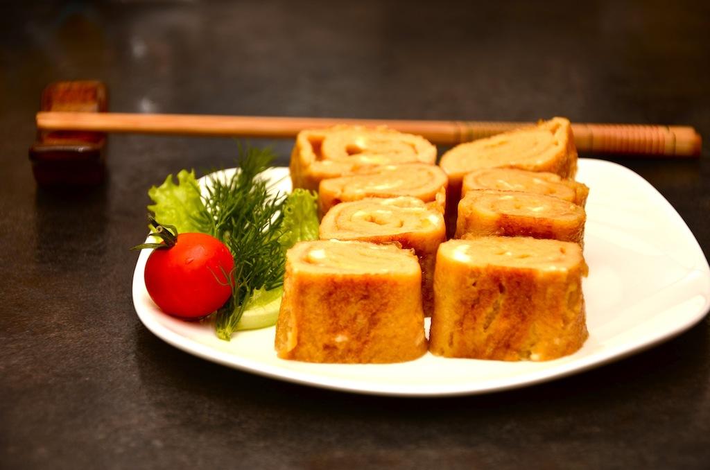 японский омлет для бенто
