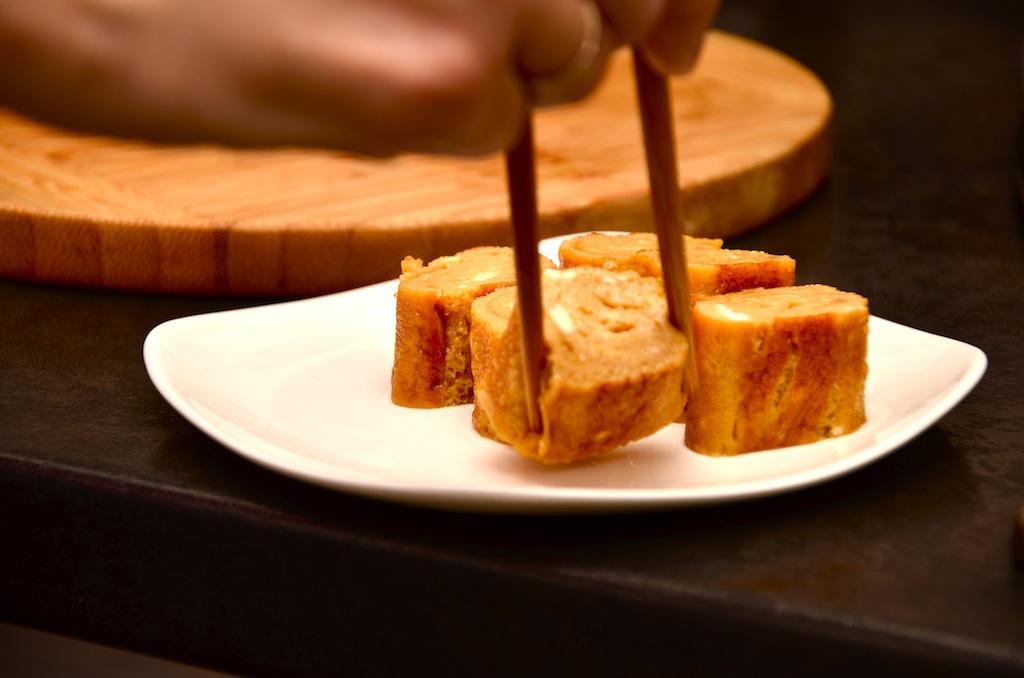 японский омлет готов