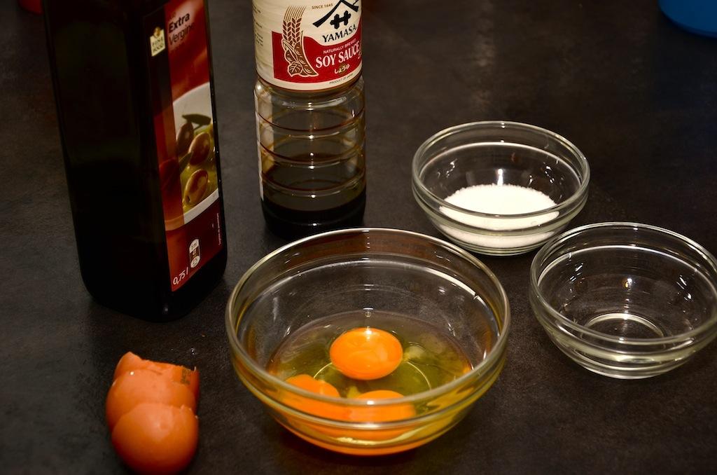 ингредиенты для японского омлета