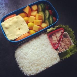 рецепт бенто рис тунец