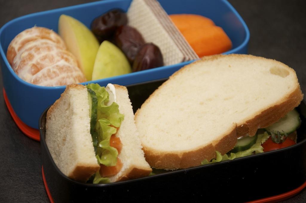 рецепт бенто сендвич с сёмгой