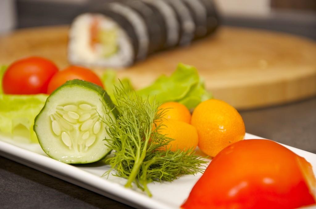 бенто овощи