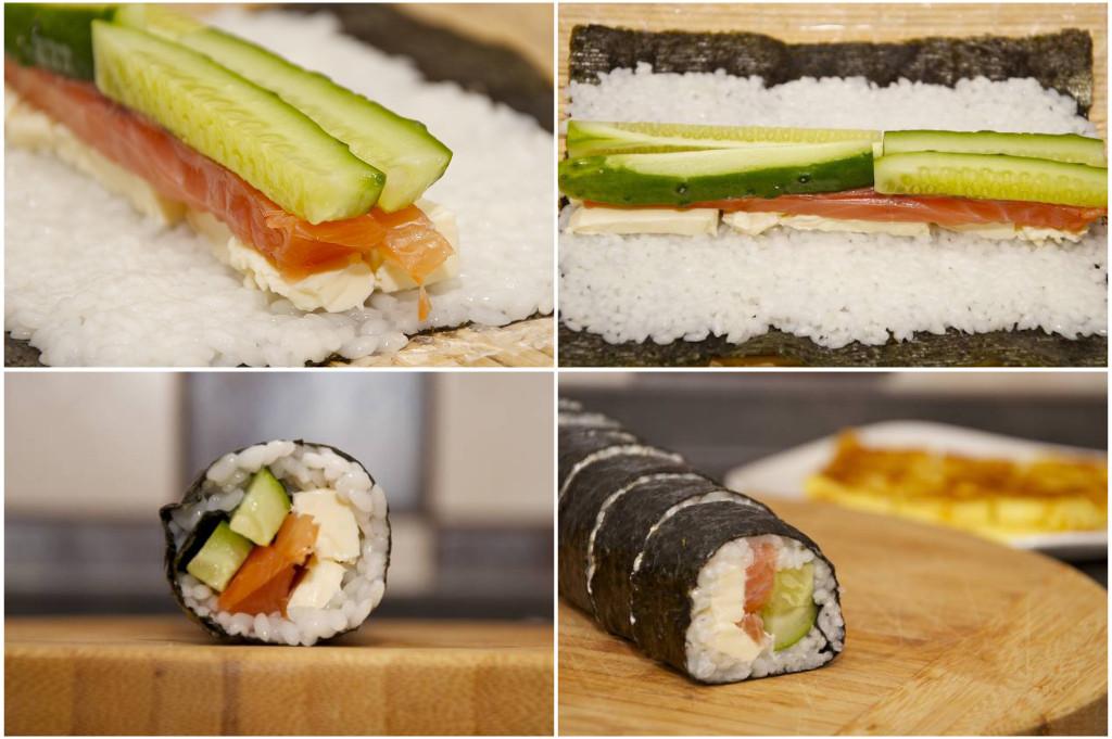 суши роллы приготовление