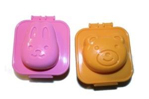 """Формочки для яиц """"Мишка и Зайка"""""""