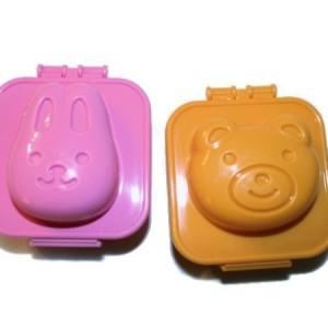 Формочки для яиц «Мишка и Зайка»