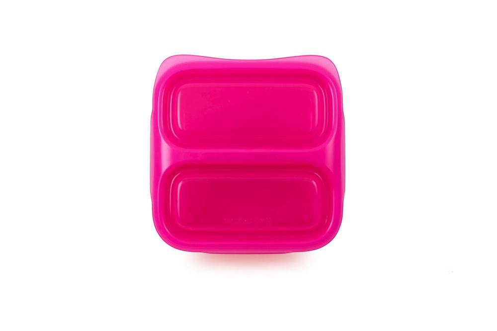 Розовый детский ланч бокс Goodbyn Small Meal