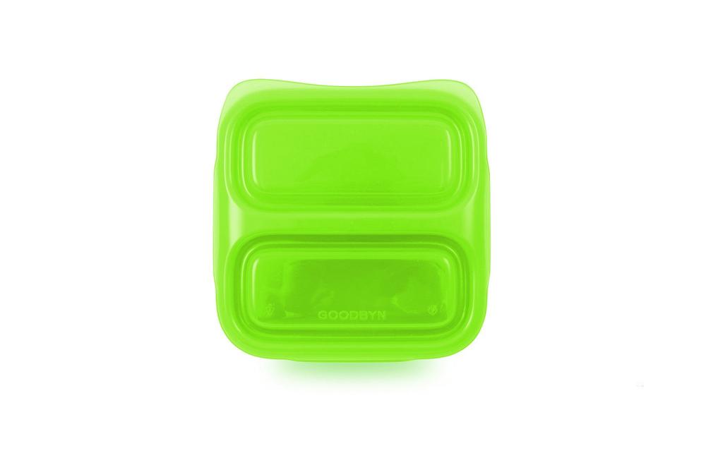 Зелёный детский ланч бокс Goodbyn Small Meal
