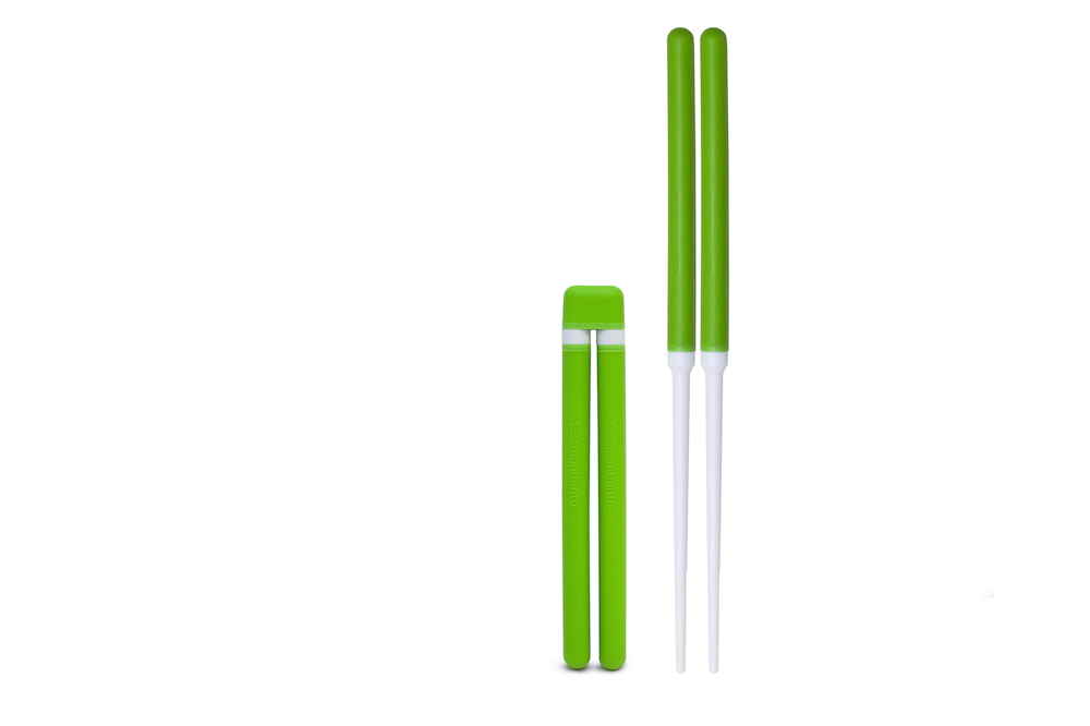 Палочки для суши monbento зелёного цвета