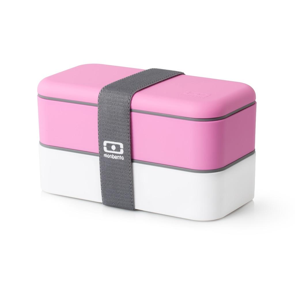Ланч бокс monbento original розового цвета