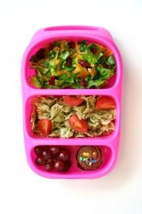 Детский обед (бенто). Зерновые (каша, макароны, хлеб)
