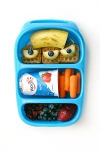 Детский обед (бенто). Молочные продукты