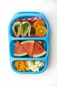 Детский обед (бенто). Фрукты