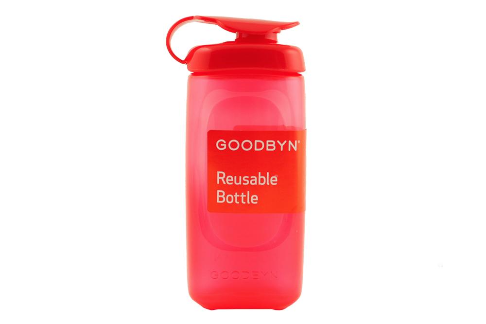 Бутылочка Goodbyn для детского ланч бокса Goodbyn Bynto красного цвета