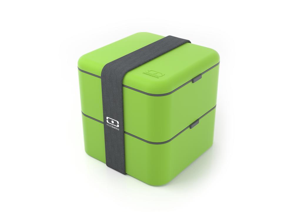 Зелёный ланч бокс monbento square