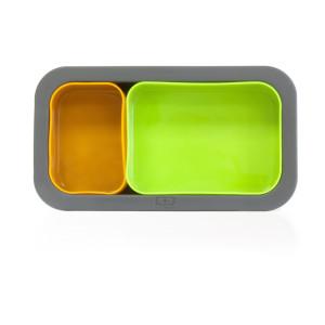 Формы Monbento Silicase — зелёный и оранжевый
