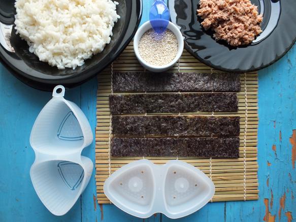 ингредиенты для онигири