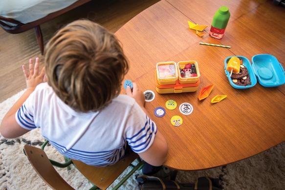 Детский ланч бокс monbento tresor для детей от 4-5 лет