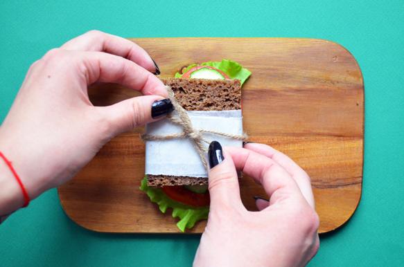 Украшаем сэндвич
