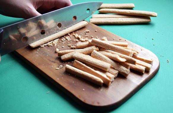 Нарезаем бамбук