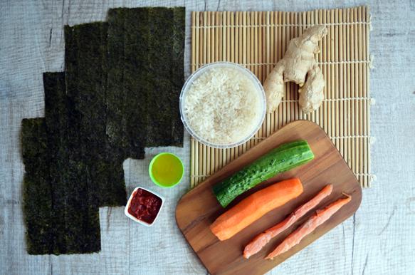 суши роллы ингредиенты