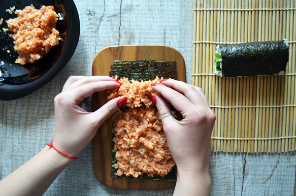 красный рис для суши роллов