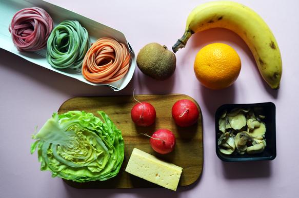 Ингредиенты для рецепта бенто