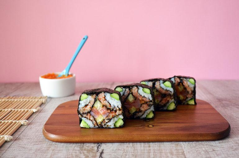 суши роллы мозаика