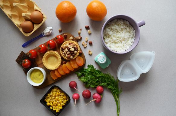 Ингредиенты для бенто ко дню матери