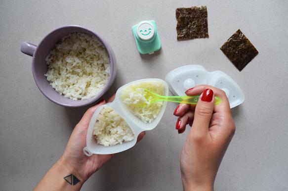 Пошаговый рецепт онигири