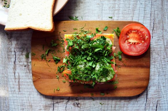 сэндвич для бенто