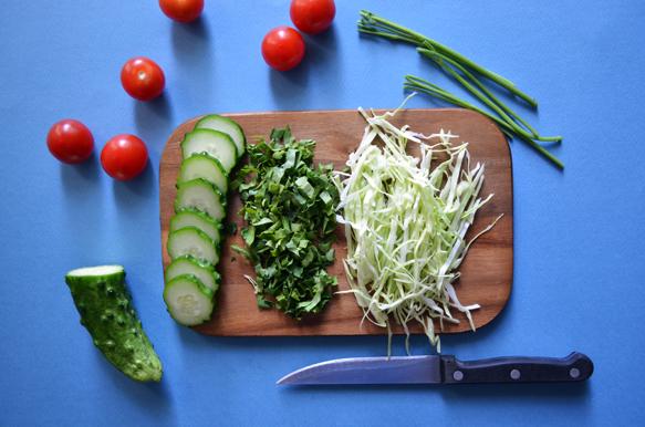 овощи для бенто