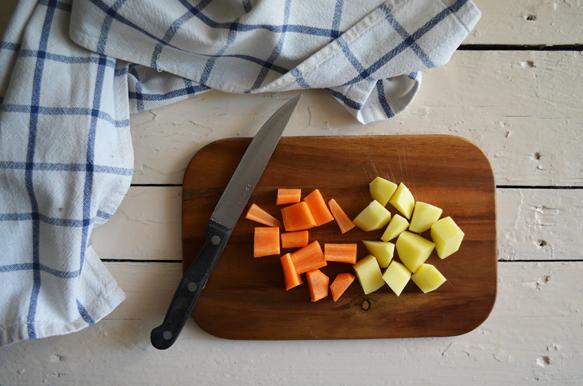 Рецепт крем-супа из цветной капусты с по-шаговым фото