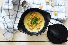 Рецепт бенто №111. Крем-суп из цветной капусты