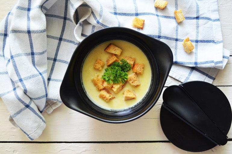 Рецепт обеда. Крем-суп из цветной капусты