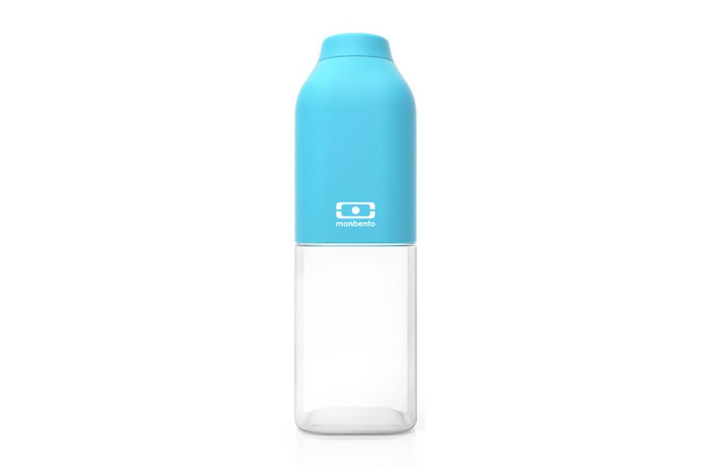 бутылка monbento positive — голубой