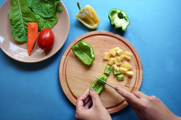 Куриная грудка с овощами. Рецепт с фото