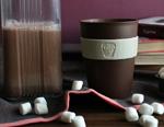 Какао на молоке с маршмеллоу