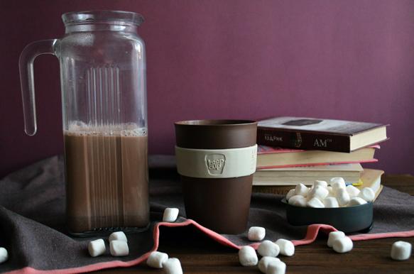 Рецепт какао на молоке с маршмеллоу