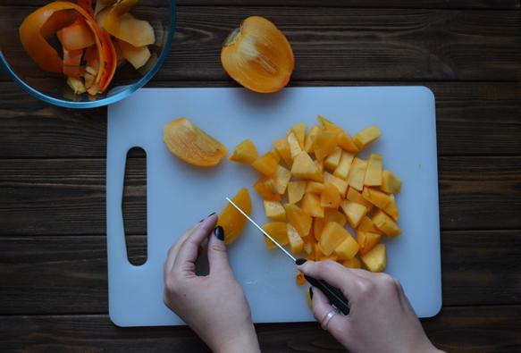 рецепт смузи с хурмой и бананом