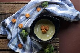 Рецепт бенто №124. Крем-суп из брокколи
