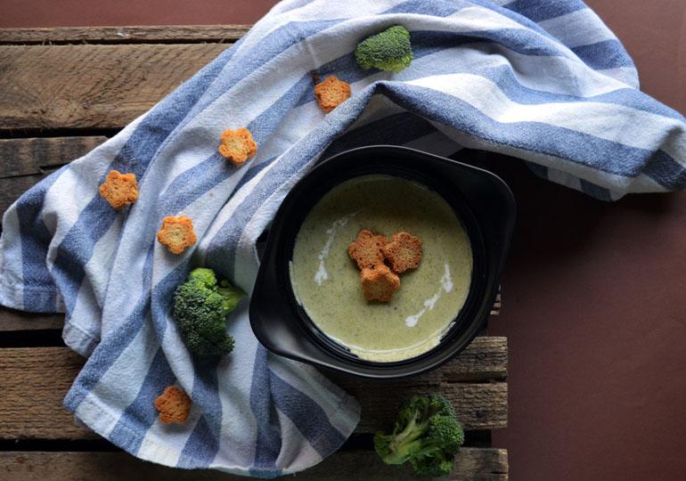 Крем-суп из брокколи. Рецепт с по-шаговым фото