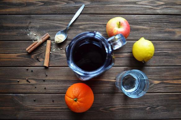 ингрединеты для безалкогольного глинтвейна