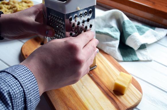 рецепт рисовой запеканки с курицей и грибами