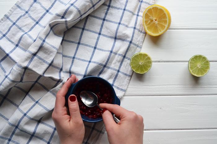 чай с клюквой рецепт с фото