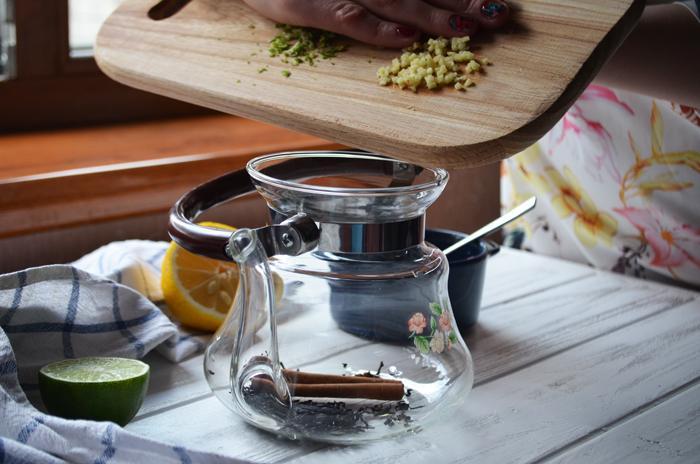 витаминный чай с клюквой рецепт