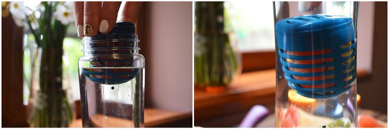 бутылка для воды Aladdin Aveo Infuser с заварником объём 0.7 мл.