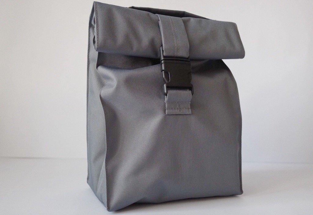 Термосумка lunch bag серого цвета