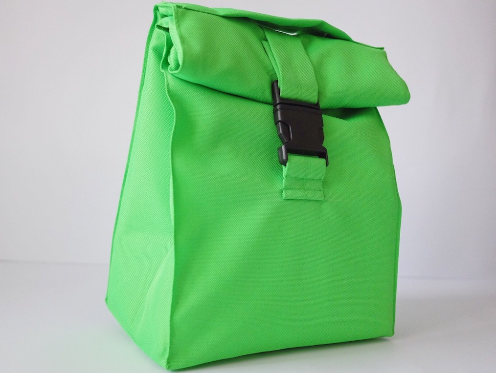 Термосумка lunch bag зеленого цвета
