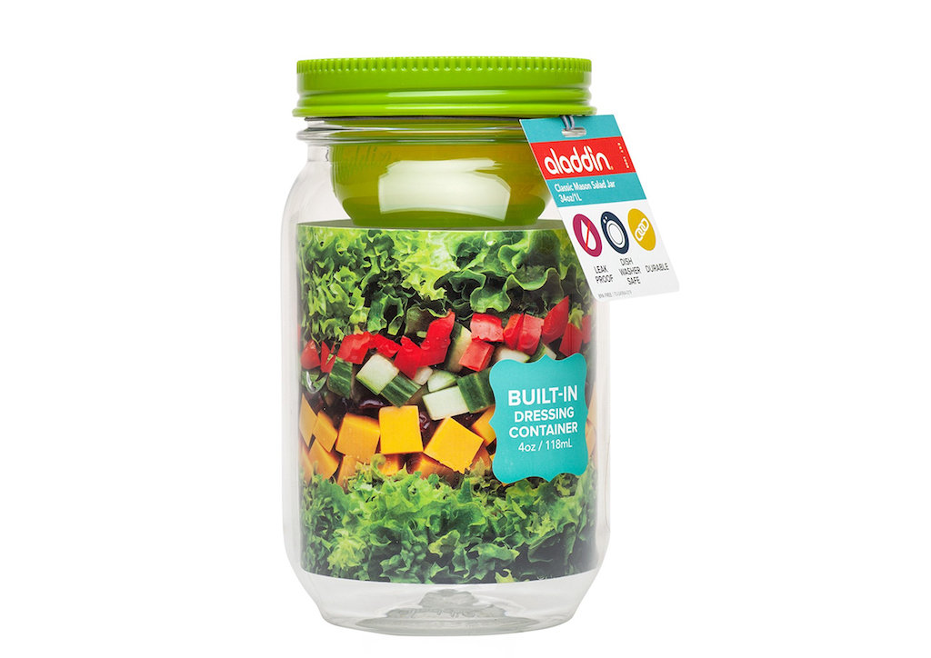 ланч бокс для салата aladdin salad jar купить киев украина